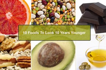 ten foods to look ten years younger