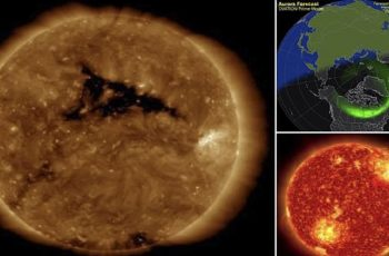 solar storm heading earth